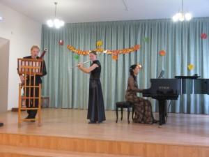 Преподаватели по классу флейты Огородников С.Е. и Огородникова Е.А.
