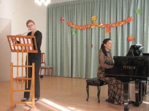 Преподаватель по классу флейты Рухлядьева А.С.
