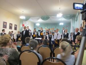 Студенческий оркестр народных инструментов, руководитель народный артист РФ Чубаров А.Н.