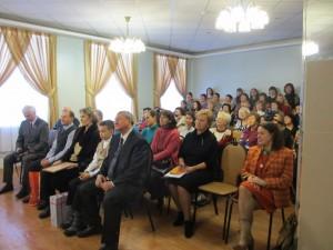 Встреча педагогического коллектива школы с делегацией из Латвии