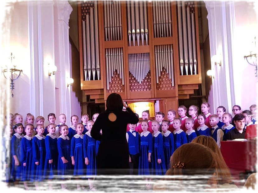 Хоровой концерт «Откроем музыке сердца»